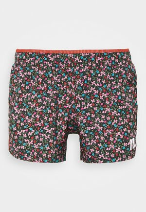 SHORT FEMME - Sports shorts - firewood orange/white