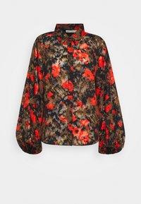 PANYA - Button-down blouse - orange