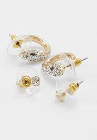 ALDO - SALARIA 2 PACK - Boucles d'oreilles - gold-coloured - 2