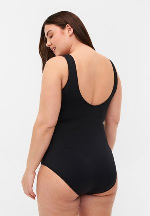 WITH MESH AND DRAPING - Badpak - black