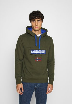 BURGEE WIN - Kapuzenpullover - green depths