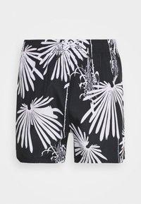 HUGO - KYOTO - Swimming shorts - open grey - 2