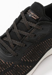 Skechers Sport - BOBS SQUAD - Trainers - black/rose gold - 2