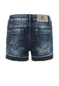 Cipo & Baxx - Denim shorts - darkblue - 4