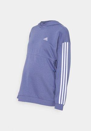 MATERNITY - Sweatshirt - orbit violet/white