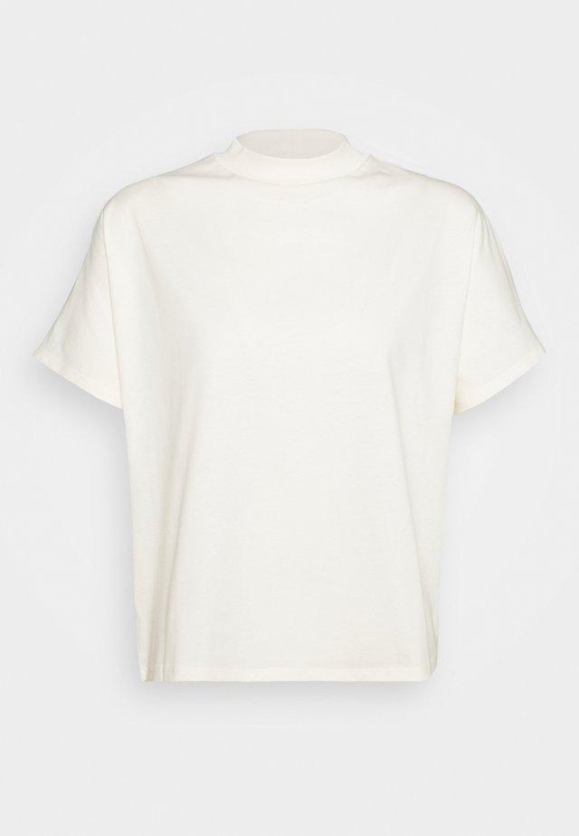 ALIX TEE - Jednoduché triko - white