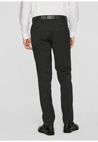 s.Oliver BLACK LABEL - CESANO - Suit trousers - black - 2