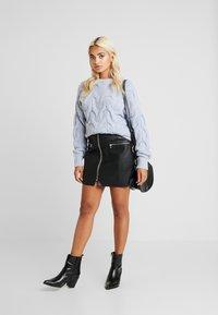 Fashion Union Petite - ANODA - Sweter - blue - 1