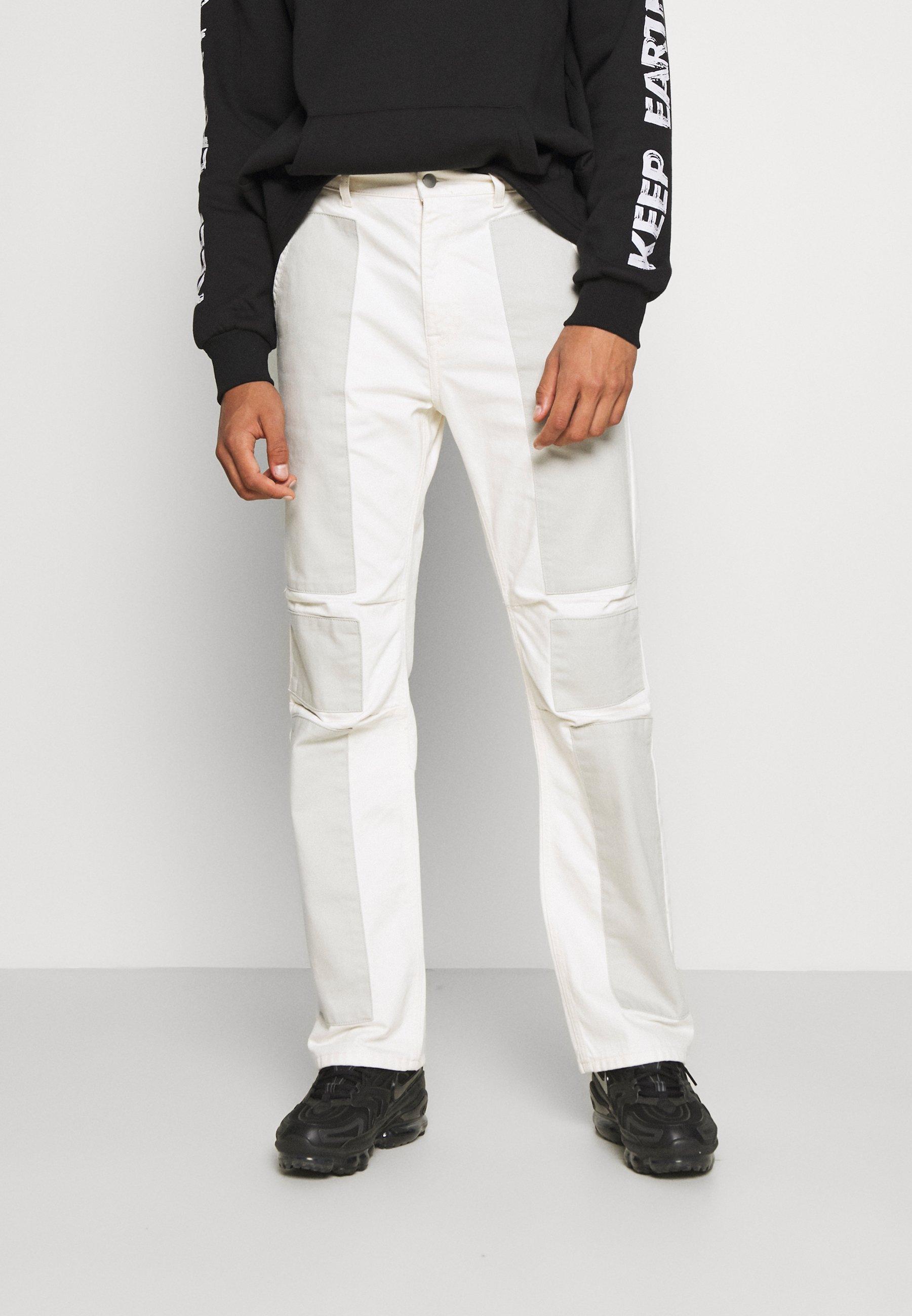 Uomo PATCHWORK GRUNGE - Jeans a sigaretta