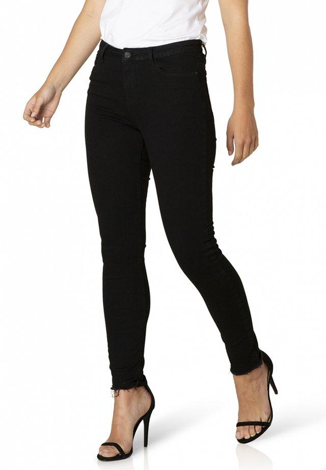 BOTTOMS ANN - Jeans Skinny Fit - black