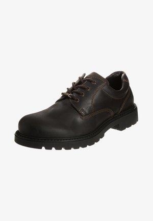 OUTBACK - Volnočasové šněrovací boty - mocca