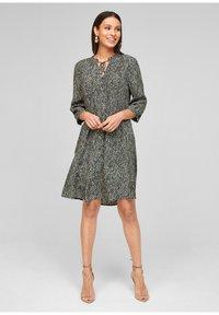 s.Oliver BLACK LABEL - Day dress - beige - 1