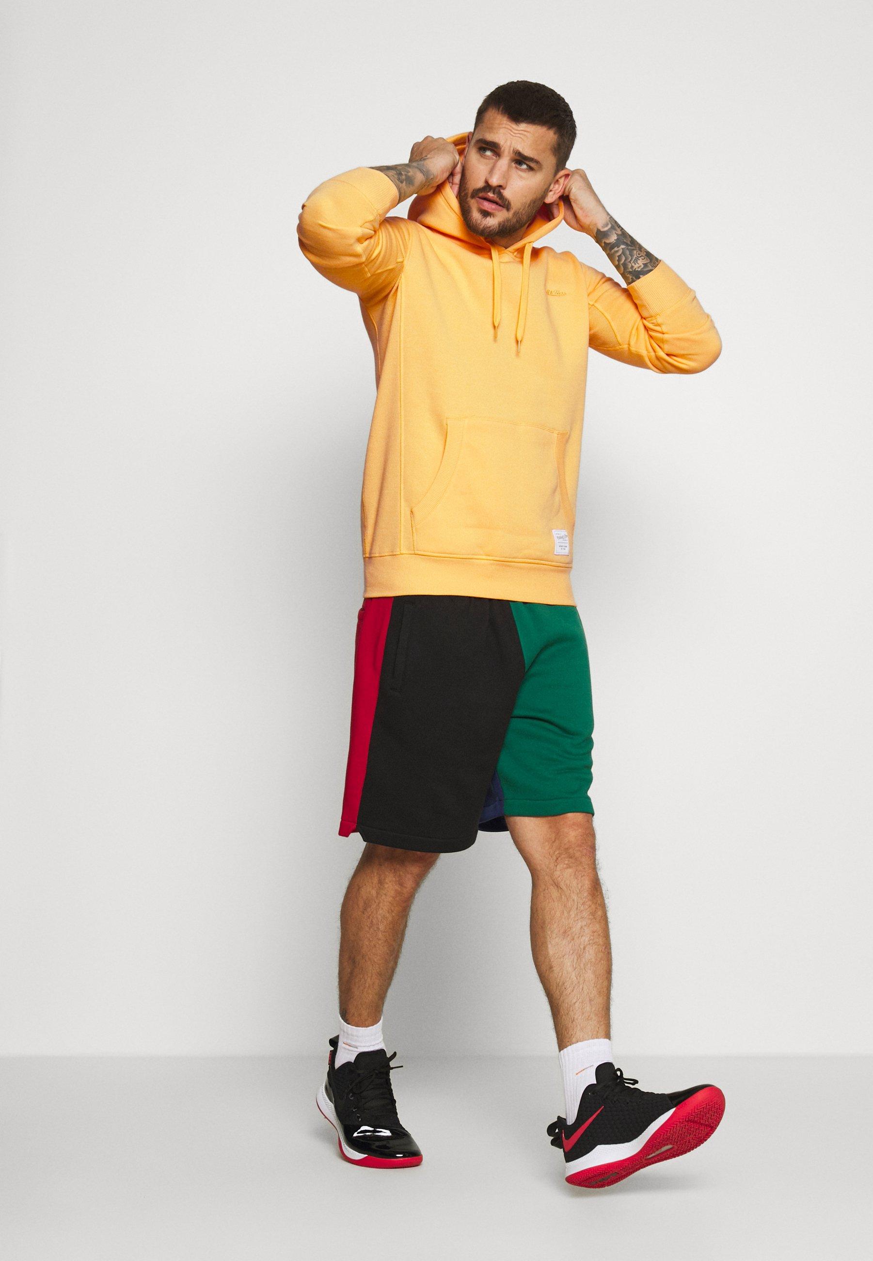 Mitchell & Ness CLASSIC HOODIE - Sweat à capuche - yellow