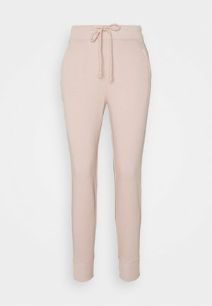 EMBROIDERED LOGO JOGGERS - Tracksuit bottoms - pink