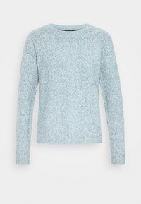Vero Moda Petite - VMDOFFY NECK BLOUSE  - Pullover - blue - 4