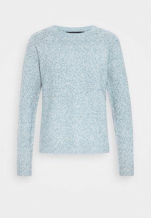 VMDOFFY NECK BLOUSE  - Pullover - blue