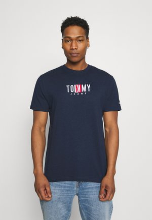 TIMELESS BOX TEE UNISEX - T-shirt print - twilight navy