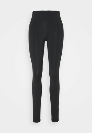 ONE GOOD - Leggings - black/metallic gold
