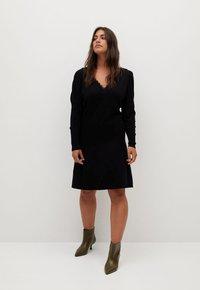 Violeta by Mango - BLONLI - Day dress - black - 1