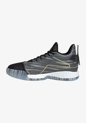 T-MAC MILLENNIUM  - Basketball shoes - core black / gold metallic / solid grey
