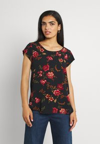 ONLY - ONLNOVA LUX - Camiseta estampada - black - 0