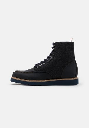 WORK BOOT - Schnürstiefelette - navy