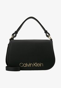 Calvin Klein - DRESSED UP SATCHEL - Handbag - black - 5