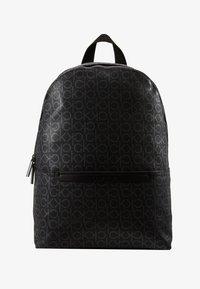 Calvin Klein - MONO ROUND BACKPACK - Tagesrucksack - black - 1