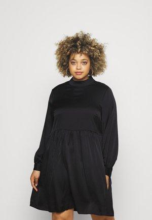 VIOLINEA HIGHNECK DRESS - Juhlamekko - black