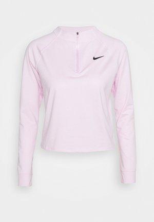 Langærmede T-shirts - regal pink/black