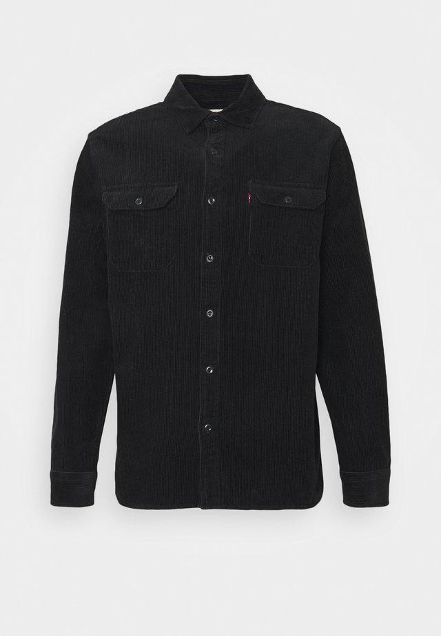 JACKSON WORKER UNISEX - Camisa - jet black
