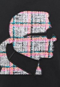 KARL LAGERFELD - BOUCLE PROFILE  - Print T-shirt - black - 6
