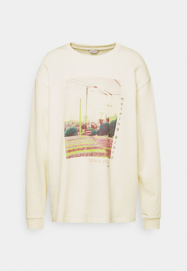 ENNIEBUHR PRINT - Sweater - dawn