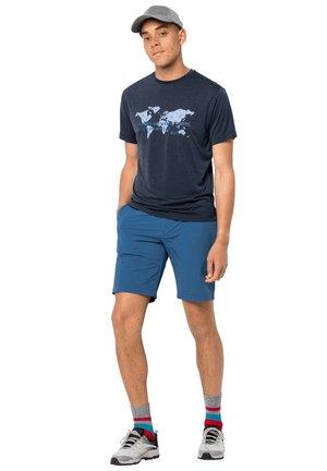 Outdoor shorts - indigo blue