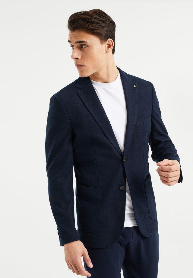 SLIM FIT  - blazer - dark blue