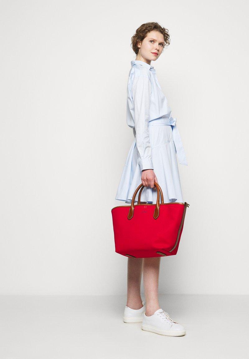 Polo Ralph Lauren - OPEN TOTE - Handbag - red