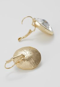 SNÖ of Sweden - NOCTURNE PENDANT EAR CLEAR - Earrings - gold-coloured - 2