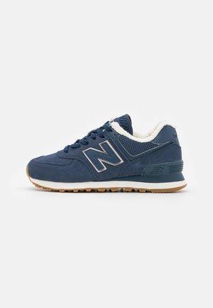 574 - Sneakers laag - blau/gold