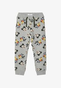 Name it - MICKEY MOUSE - Tracksuit bottoms - grey melange - 0