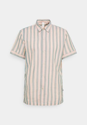 RELAXED FIT SHORT SLEEVE SAILOR  - Camicia - salmon/blue