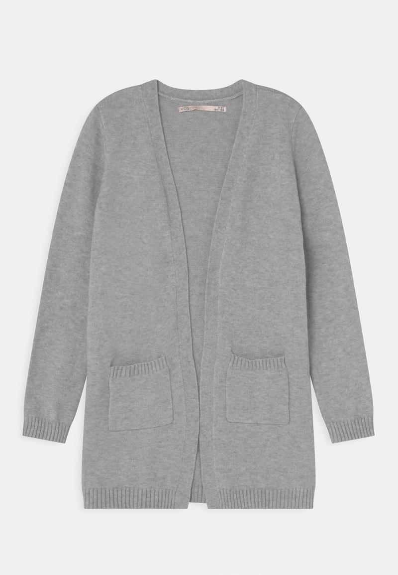 Kids ONLY - KONLESLY - Cardigan - light grey melange