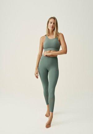 ASHA  - Collants - verde oscuro