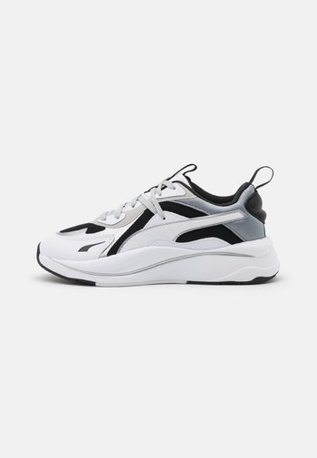 RS-CURVE GLOW  - Sneakers laag - black/white/silver