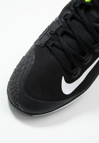 Nike Performance - COURT AIR ZOOM - Multicourt tennis shoes - black/white/volt - 5