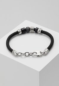 Fossil - VINTAGE CASUAL - Armband - black - 2
