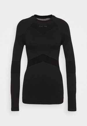 LONG SLEEVE COMPRESSION  - Long sleeved top - black