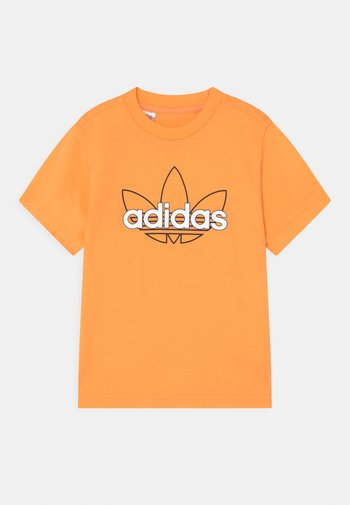 OUTLINE TREFOIL UNISEX - Print T-shirt - hazy orange