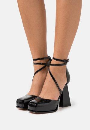 DIANA - Zapatos altos - nero