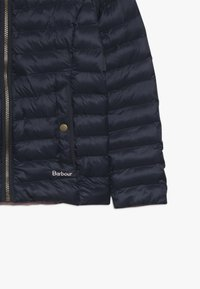 Barbour - GIRLS HIGHGATE QUILT - Winter jacket - navy/rose bay - 5