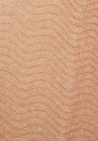 YAS - YASBETRICIA LONG CARDIGAN - Kardigan - tawny brown - 2